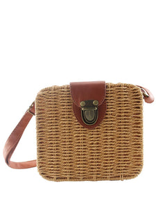 Summer Small Straw Bag