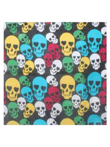 Colourful Skulls Bandana