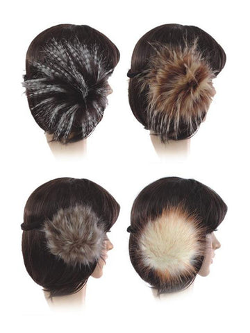 Faux Fur Ear Muffs - Accent Fashion Accessories