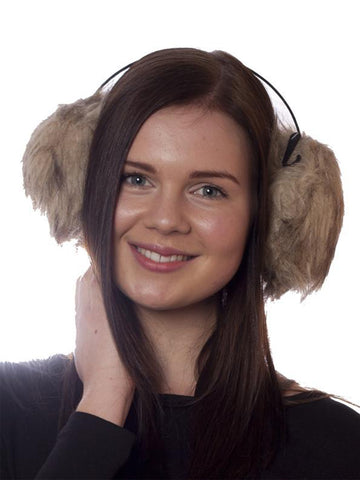 Oversize Faux Fur Ear Muffs