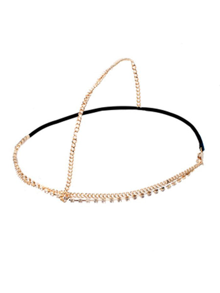 Diamante and Chain Hairband