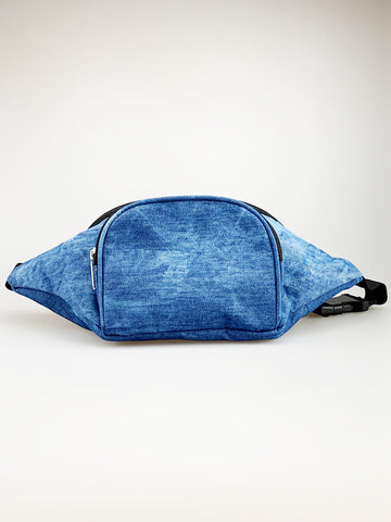 Washed Denim Bum Bag