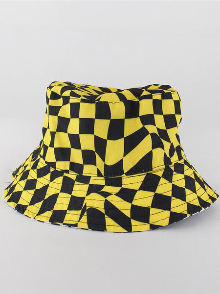 REVERSIBLE ILLUSION BUCKET HAT