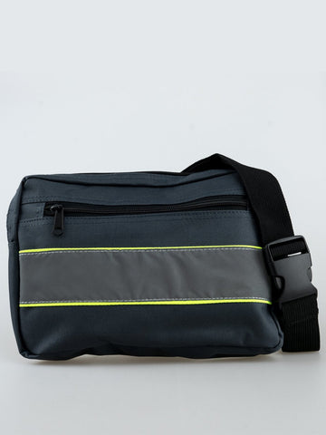 REFLECTIVE CROSS BODY BAG
