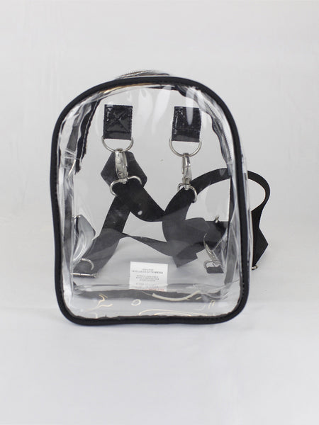 Mini Transparent Clear Backpack