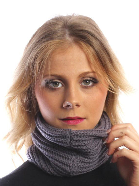 Lilac Multifunctional Snood Scarf