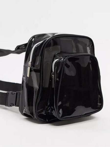 BLACK PVC CHEST PACK