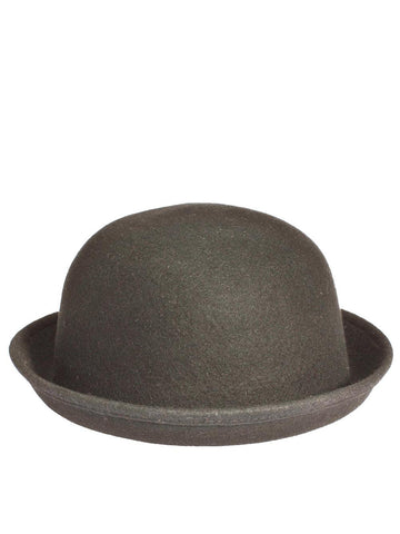 Grey Plain Bowler Hat