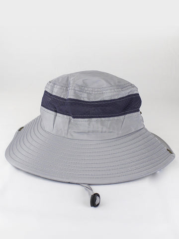 GREY SAFARI HAT