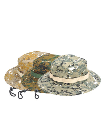Army Camo Safari Hat