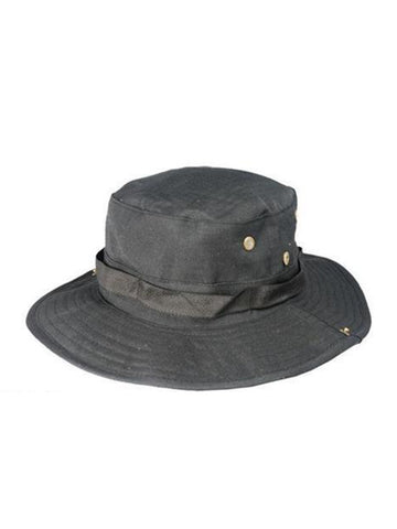 Black Safari Hat