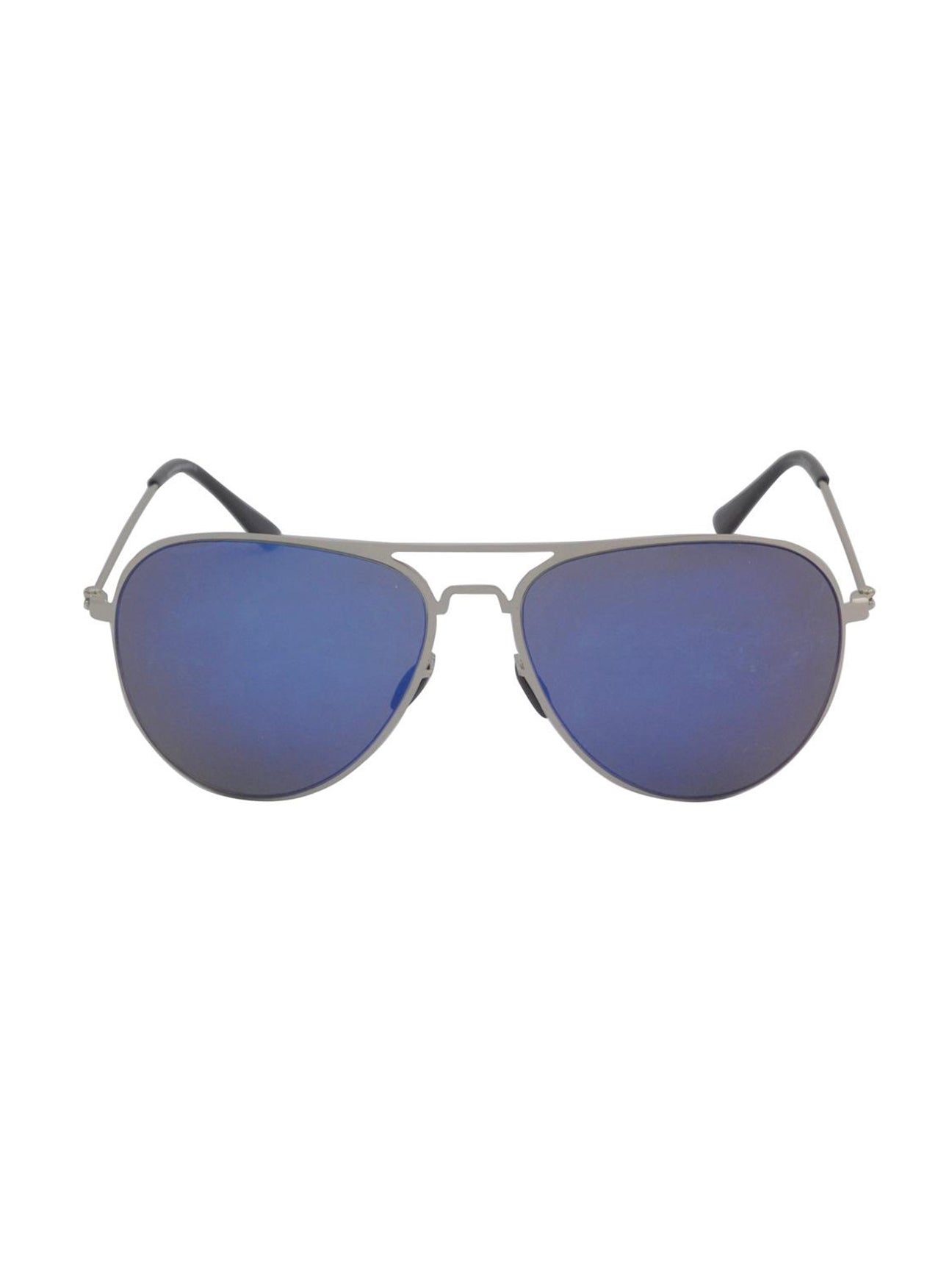 Classic  Blue Mirrored Aviator Sunglasses