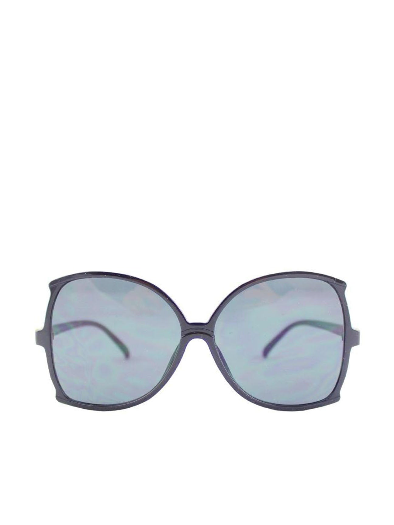 Oversized Exaggerated Sunglasses With Black frame