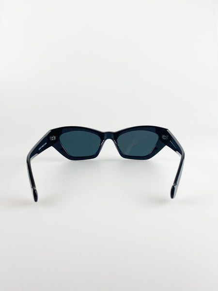 Angled Sunglasses In Black