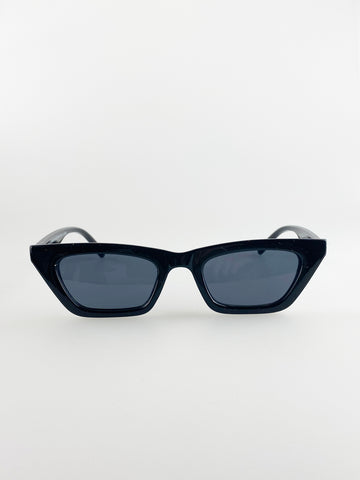 Cateye Sunglasses In Black