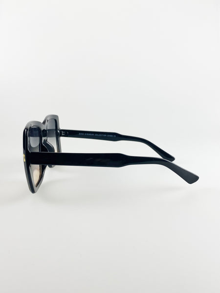 Oversized Square Sunglasses In Black