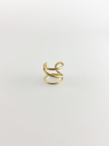 Wrap Around Gold Ring