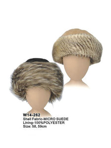 Russian Hat with Faux Fur