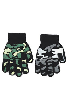 Camo Gloves - Accent Fashion Accessories