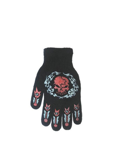 Skull Print Gloves - Accent Fashion Accessories