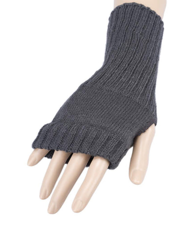 Neutral Coloured  Fingerless Gloves
