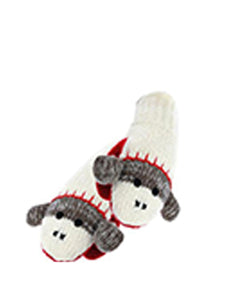 Monkey Style Animal Mittens