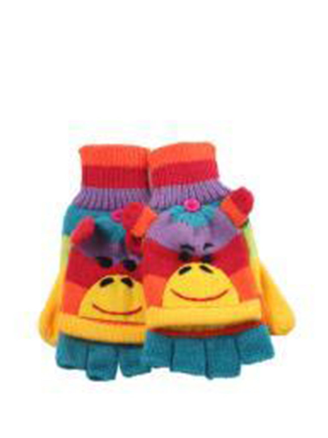 Rainbow Monkey Gloves