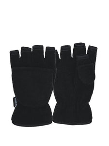 Ladies Large Fleece Style Combo Gloves - Accent Fashion Accessories
