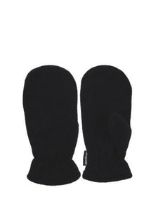 Black Thermalwear Mittens