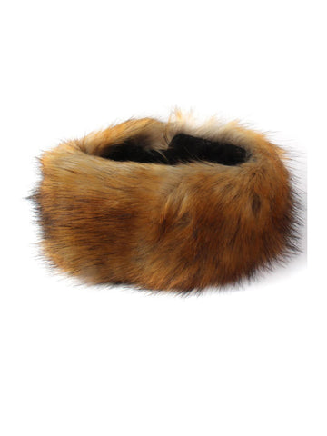 Fox Brown Luxury Faux Fur Headband