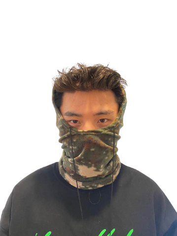 Camo Fleece Balaclava Neck Warmer