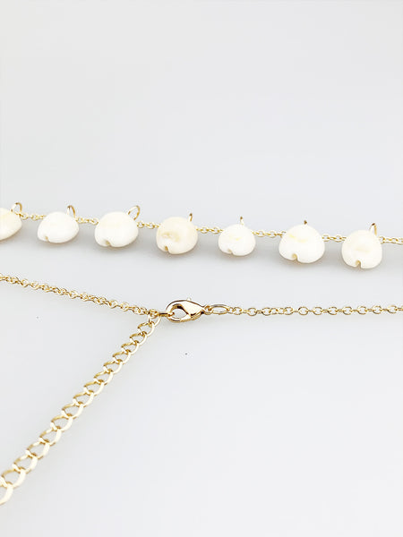 Chain Belt With Shells