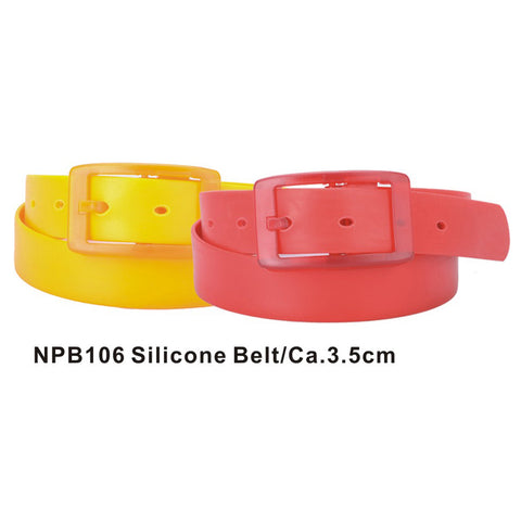 Orange and Red Assorted Silicone Belts