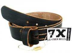 Leather Belt Strap for Buckle - Accent Fashion Accessories