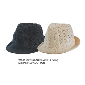 Knitted Effect Trilby Hat WAS £3.99 NOW £1.99 - Accent Fashion Accessories