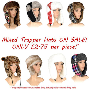 Trapper Hats Multi Pack - SPECIAL OFFER! - Accent Fashion Accessories