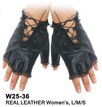 Ladies Leather Gloves - Accent Fashion Accessories
