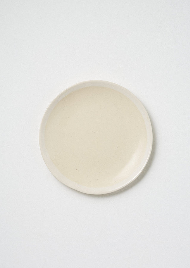 Wonki Ware White Wash Side Plate | Natural/White ?id=16768505511970