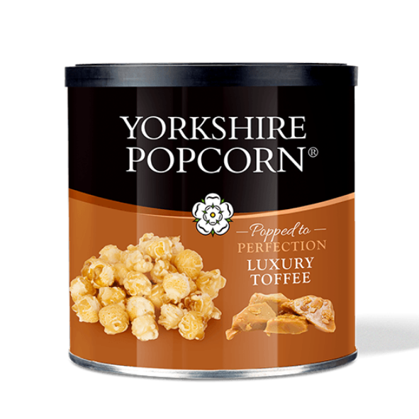Luxury Toffee Popcorn - from Yorkshire Crisps