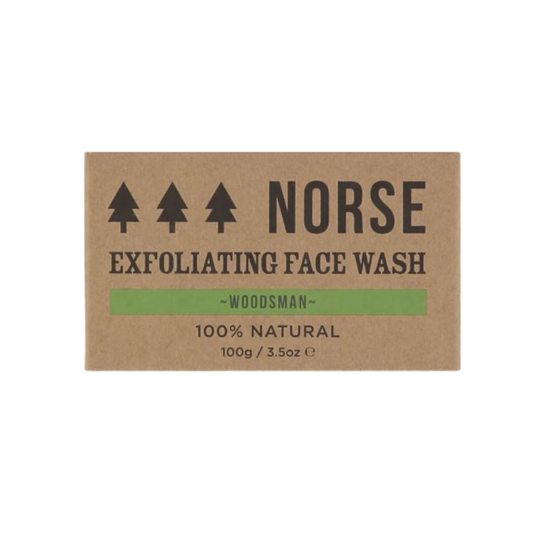 Exfoliating Face Wash - from Norse