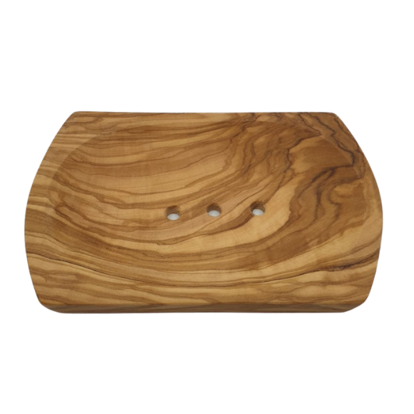 Handmade Olive Wood Soap Dish - from Tilda's Tribe