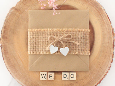 5 INCREDIBLE IDEAS FOR DIY WEDDING INVITES
