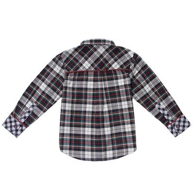 Multi-color Plaid Shirt for Boys
