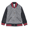 The Letterman Tweed and Suede Jacket for Boys
