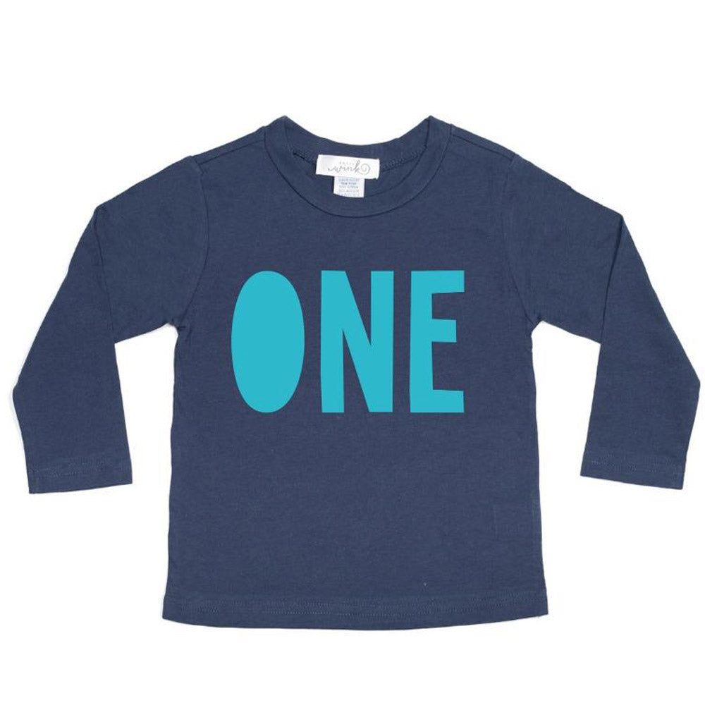 Boys Birthday One Long Sleeve Shirt