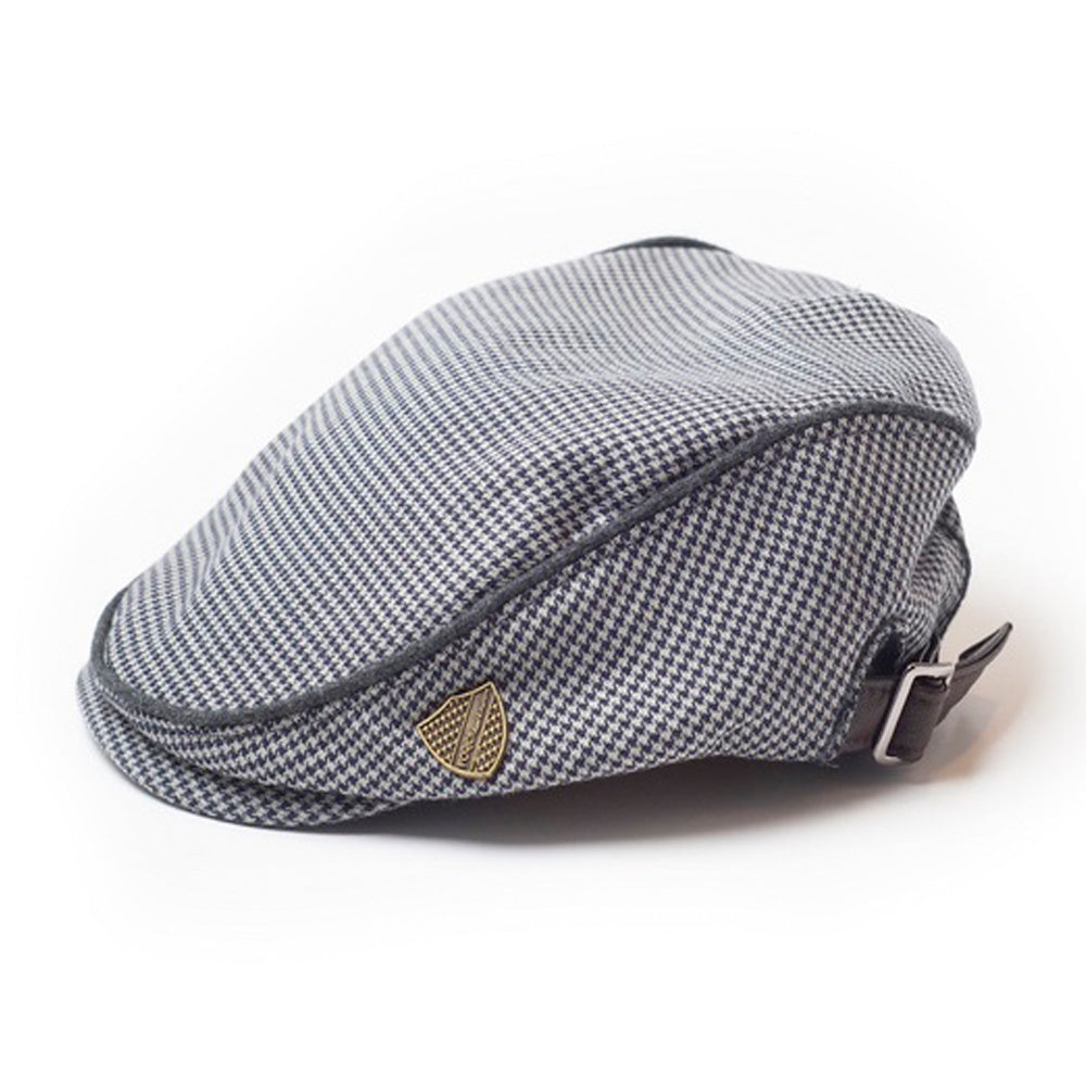 Houndstooth Drivers Cap