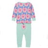 Apple Orchard ORGANIC Cotton Baby Pajama Set