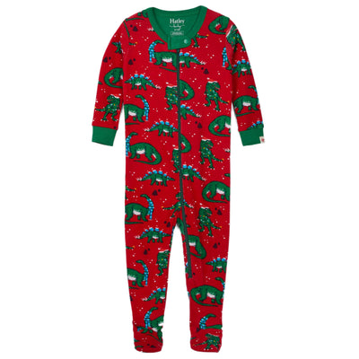 Winter Fair Isle Footed Coverall Pajama