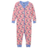 Patchwork Kitty ORGANIC Cotton Footed Coverall Pajama