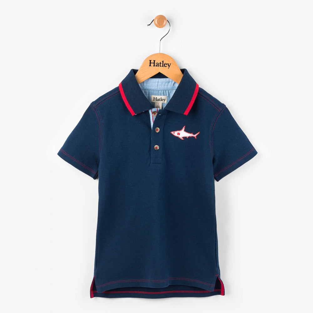 Great White Shark Polo